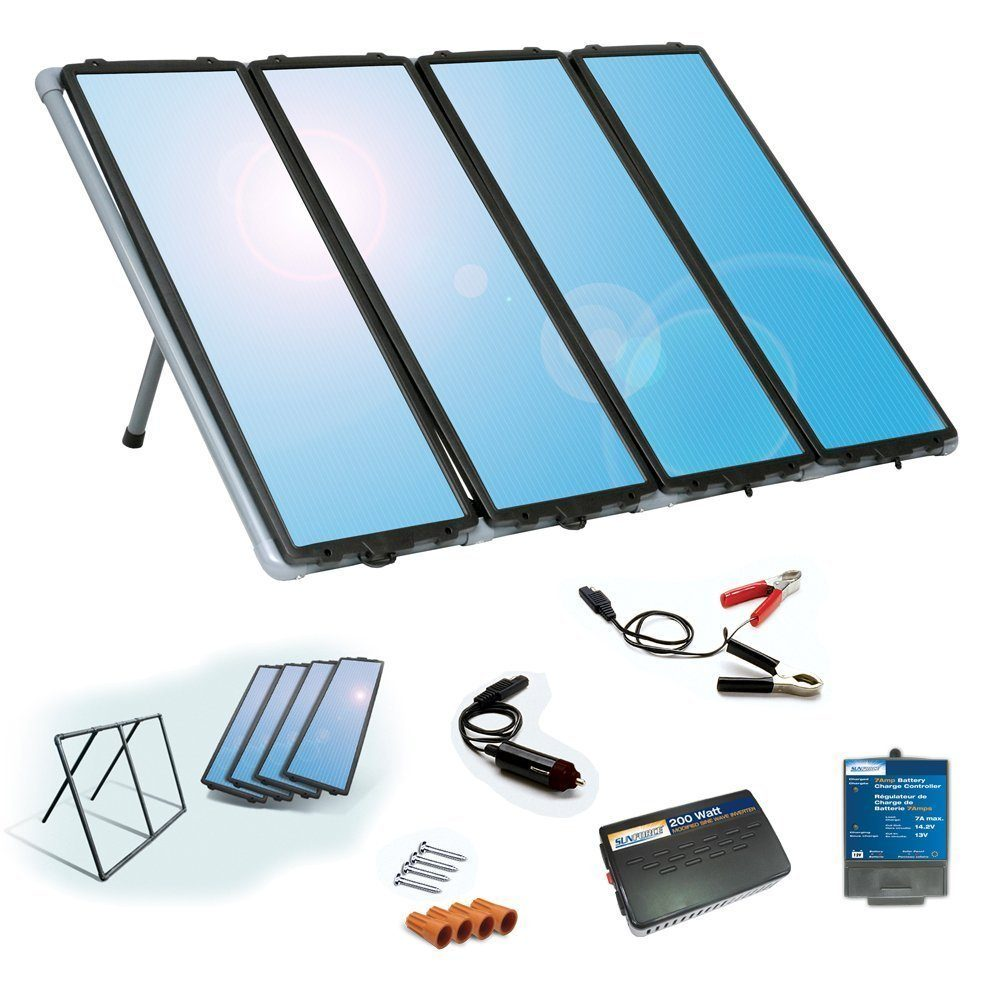 sunforce-solar-charging-kit