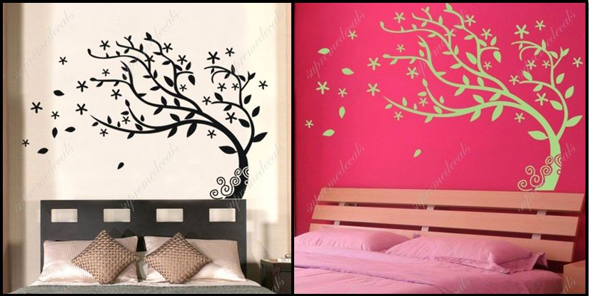 Removable Vinyl Wall Art Decals
