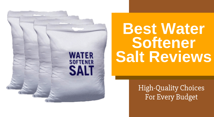 bags of water softener salt