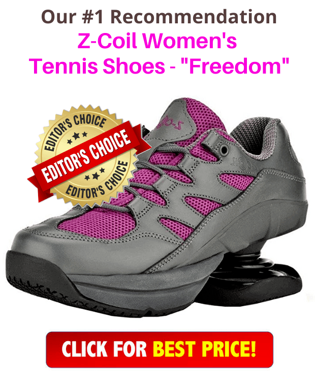 """Z-Coil Women's Tennis Shoes """"Freedom"""" product"""
